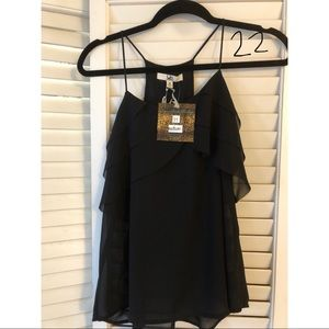 YA New York Black Top NWT